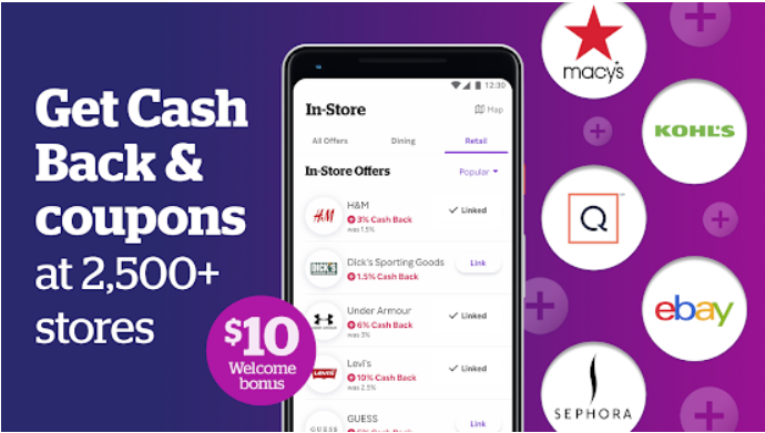 Earn cash back and coupons with Rakuten app