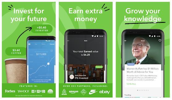 Easily invest with Acorns