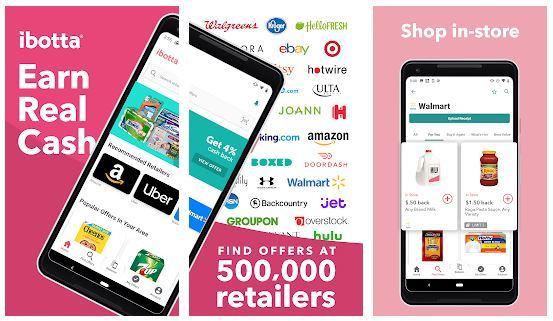 Ibotta money earning apps