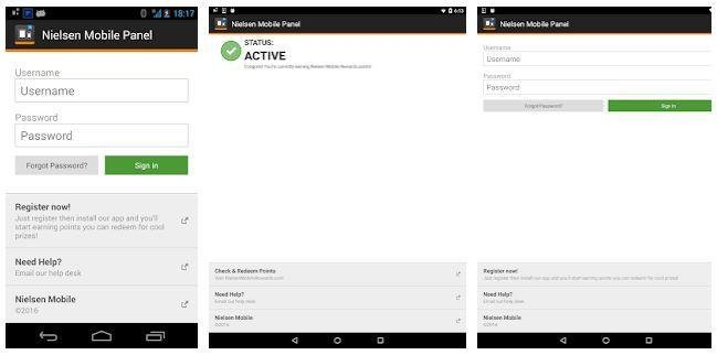 Nielsen mobile app passive income